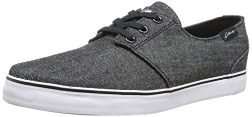 C1RCA Men's Crip Textile Fashion Sneaker,Black/Denim,5 M US