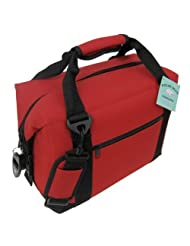 Polar Bear Coolers 12 Pack Soft Cooler, Red by Polar Bear Coolers