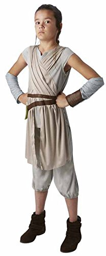 Rubie's - Disfraz Star Wars La Fuerza Despierta, vestuario de Rey para niñas de 11 - 12 años (R620326-11-12)