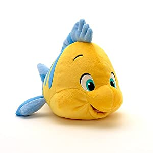 Disney The Little Mermaid: Flounder Plush 10''