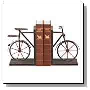 Vintage Style Bicycle Bookends  8-Inch