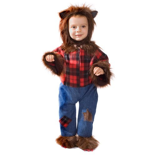 Wolfman Infant Costume Size 0-6 Months
