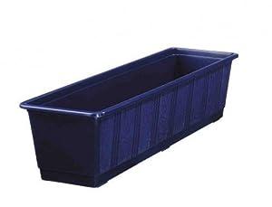 blumenkasten standard aus kunststoff 50 cm blau. Black Bedroom Furniture Sets. Home Design Ideas