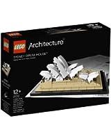 Lego Architecture - 21012 - Jeu de Construction - Sydney Opéra House