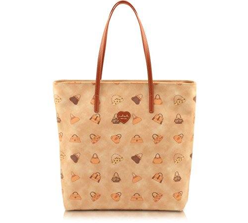 BORSA DONNA SHOPPING A SPALLA LORISTELLA ORIGINALE MADE IN ITALY CON ETICHETTE