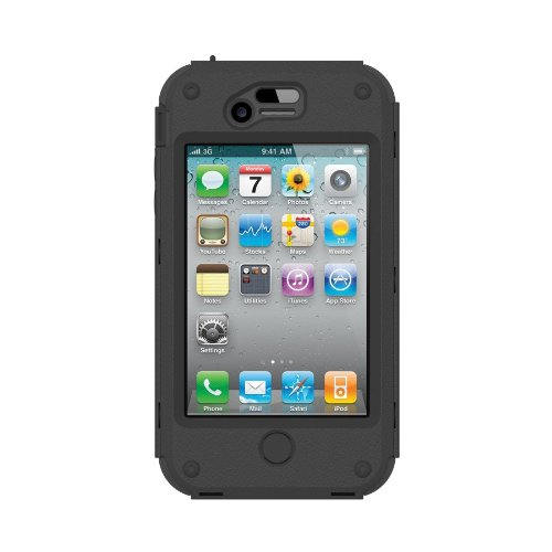 Trident Kraken A.M.S. Case for iPhone 4/4s - Black