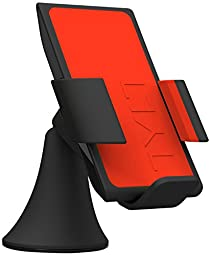 TYLT VU Wireless Charging Car Mount 3 Coil Qi Charger for Galaxy S6/Nexus 6/Droid Turbo/Lumia 920 and other Qi Phones - Red
