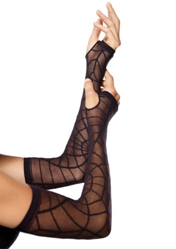 Leg Avenue Sheer Spider Web Arm Warmer