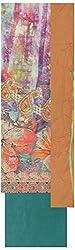Simran Silk Store Women's Cotton Unstitched Dress Material (Multi-coloured)