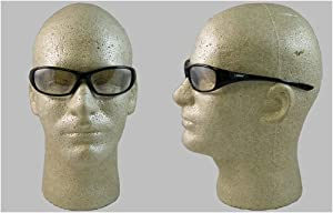 Jackson V40 HellRaiser Safety Glasses, Black Frame, Indoor/Outdoor Lenses (3013856)