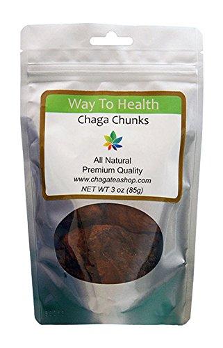 Chaga Mushroom Chunks 3 Oz. (85G.)