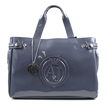 0adad70f9a3c Armani Jeans Sac Gris Vernis Femme 05291 55 K2 Tu  Amazon.fr