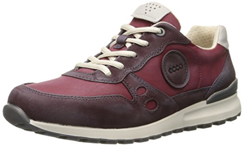 ECCO Cs14 Ladies Sneakers, Donna, Rosso(Bordeaux/Gravel 59309), 38