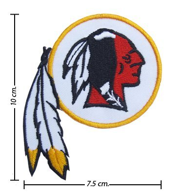 NFL Washington Redskins Style-1 Embroidered Iron On Patch by Nattharit