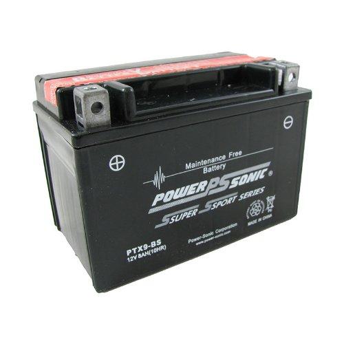Power-Sonic (Ptx9-Bs) Sealed Maintenance Free Powersport Battery