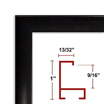 22 x 38 1/2 Black Poster Frame Profile: #93 Custom Size Picture Frame coupon codes 2015