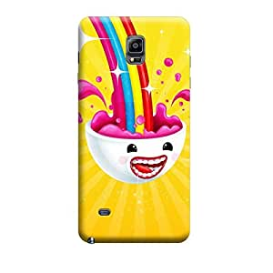 iCover Premium Printed Mobile Back Case Cover With Full protection For Samsung Note 4 (Designer Case)
