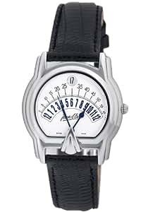 Jean D'eve Men's 655451B/AS.AA Sectora Automatic Silver-Tone Black Lizard-Leather Watch