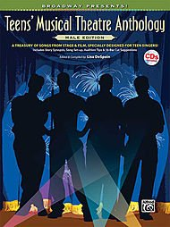 Alfred Broadway Presents! Teens' Musical Theatre Anthology Male Edition Book & Cd front-438100