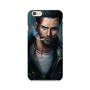 Mobicture Man Illustrated Premium Designer Mobile Back Case Cover For Apple iPhone 6 Plus/6s Plus