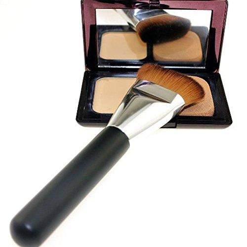 2015 Flat Contour Brush Repair Capacity Brushes for Girls (Black,16*3cm)