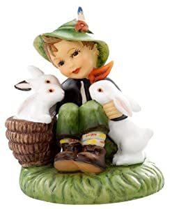 M.I. Hummel Miniature Figurine - Playmates by M.I. Hummel