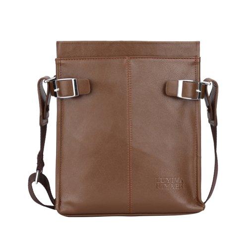 Men Fashion PU Leather Business Messenger Shoulder Bag Handbag In Three Colors