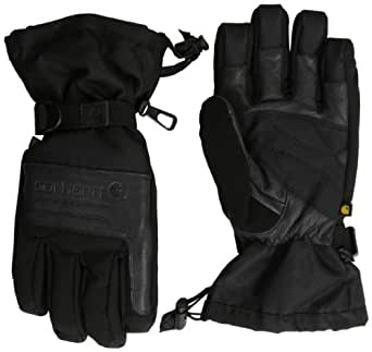 Carhartt Men's Cold Snap Insulated Work Glove, Black, Medium