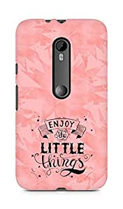AMEZ enjoy the little things 2 Back Cover For Motorola Moto Turbo