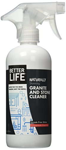 Better Life Granite and Stone Cleaner, Pomegranate Grapefruit, 16 Ounces (Natural Cleaning Products compare prices)