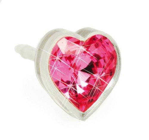 Blomdahl Medical Plastic Rose Heart 6mm