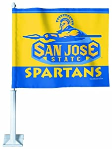 Buy NCAA San Jose State Spartans Car Flag by WinCraft