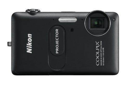 NIKON – Coolpix S1200pj Black 2015