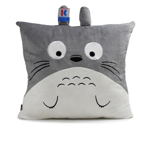 Stuffed Animals 38 X 38Cm Totoro Throw Pillows Plush Decorative Pillows Chair Cushions front-571818