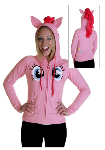 My Little Pony Pinkie Pie Face Juniors Pink Costume