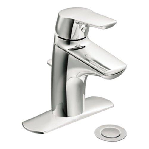 Moen 6810 Method One-Handle Low Arc Bathroom Faucet, Chrome