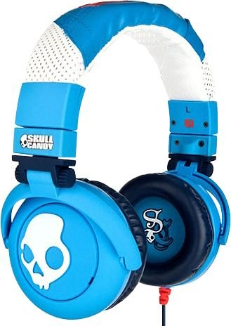 Skullcandy G.I. Headphones Shoe Blue (2010 Color), One Size