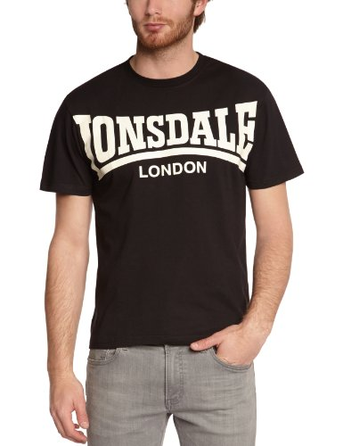 Lonsdale T-shirt York Nero L (UK M)