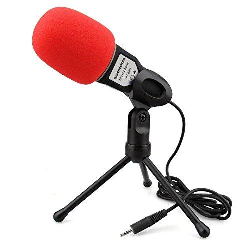 Professional Stereoscopic Condenser Sound Microphone