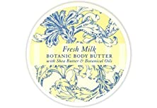 buy Greenwich Bay Body Butter Enriched With Shea Butter And Cocoa Butter, Moisturizing And Fast Absorbing (Set Of 2) (Fresh Milk) 8 Oz Each
