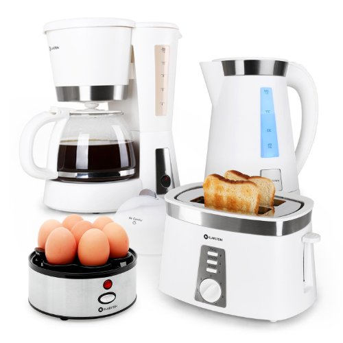 kaffeemaschine toaster wasserkocher set preisvergleiche erfahrungsberichte und kauf bei nextag. Black Bedroom Furniture Sets. Home Design Ideas