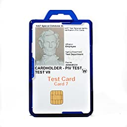 Identity Stronghold Secure Badge Holder Duolite, Blue (IDSH2004-001B-blu)