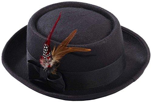 Men's Novelty Deluxe Pork Pie Hat