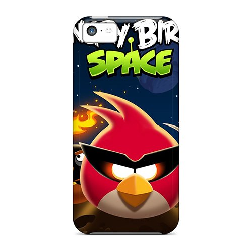 Special Design Back Angry Birds Space Phone Case Cover For Iphone 5C