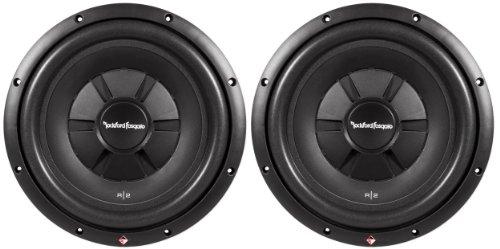 "Pair Of (2) Rockford Fosgate R2Sd2-12 12"" 1000 Watt Prime R2 Dual 2 Ohm Voice Coil Shallow Subwoofers"