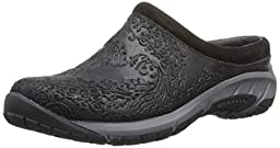 Merrell Women\'s Encore Frill Slip-On Shoe,Black,7.5 M US