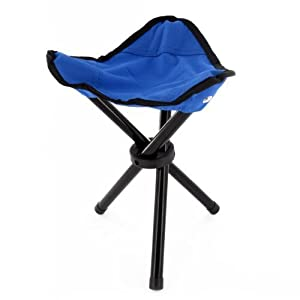 Portable Folding Camping Stool Fishing Chair Picnic Seat Outdoor Garden Tripod