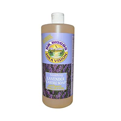 Dr. Woods Pure Castile Soap with Organic Shea Butter - Lavender - 32 oz