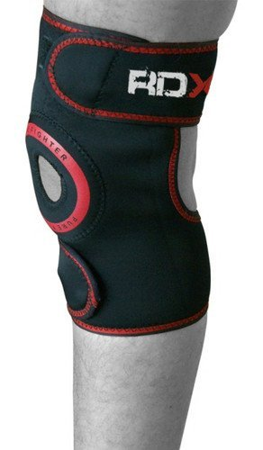 Authentic RDX Neoprene Knee Brace Cap Support MMA Pad Guard, Small, Medium, Large, XLarge (SINGLE ITEM)