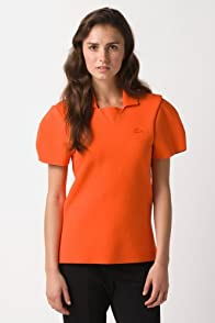 Fashion Show Short Sleeve Structured Pique Double Face Polo Shirt